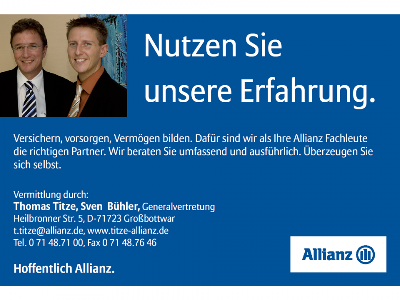 Allianz Agentur Thomas Titze - www.titze-allianz.de
